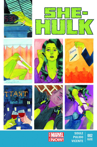 She-Hulk #2 (2nd Printing)