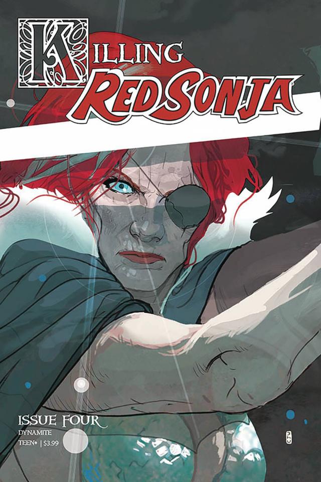 Killing Red Sonja #4 (Ward Cover)