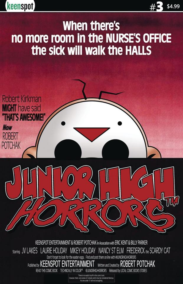 Junior High Horrors #3 (Dawn of the Dead Parody)