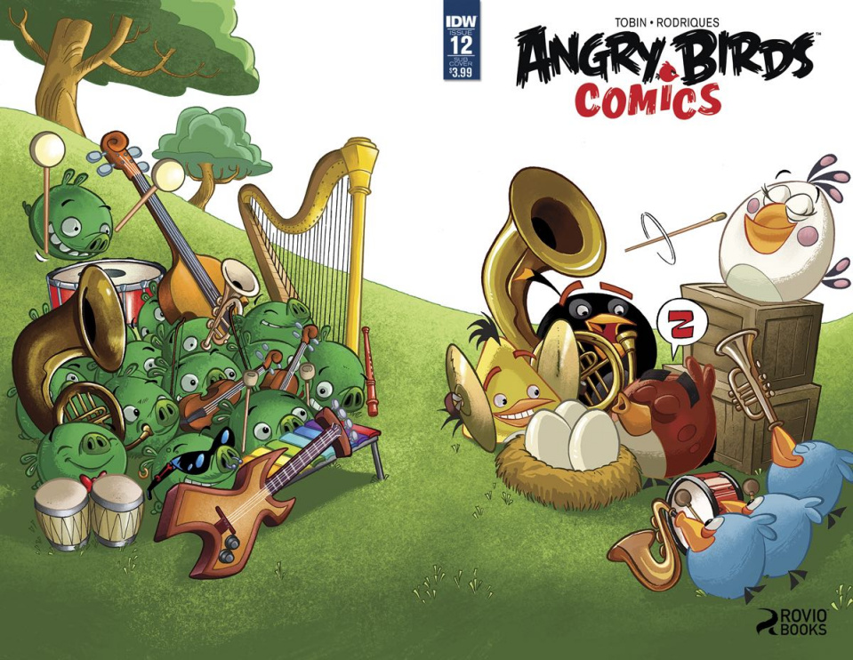 Angry Birds Comics #12 (Subscription Cover)