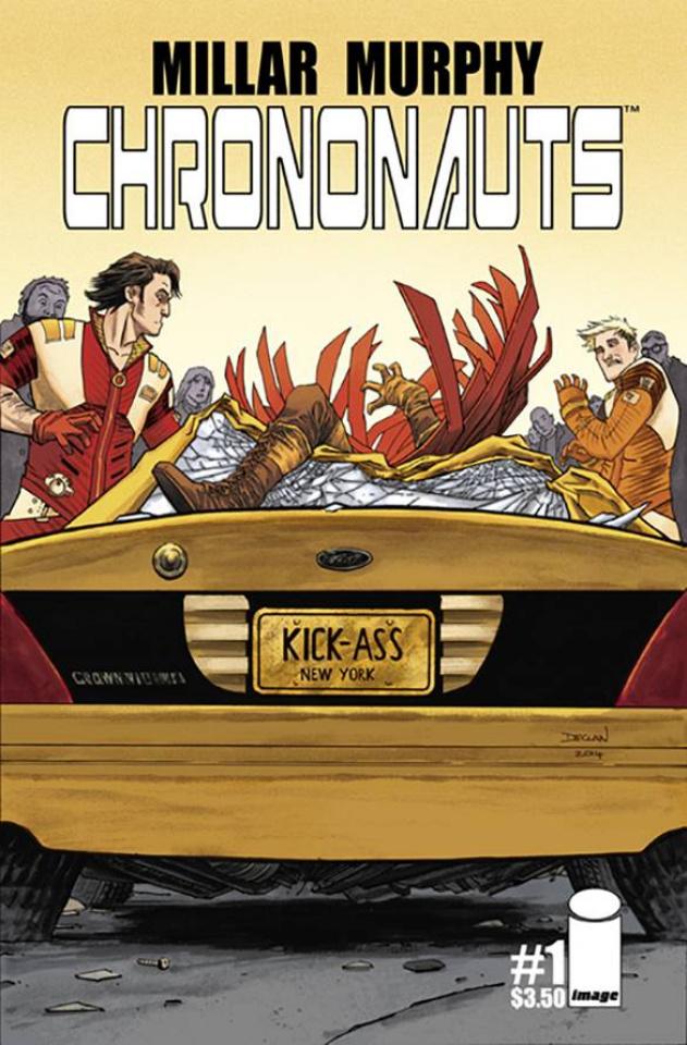 Chrononauts #1 (Shalvey Cover)