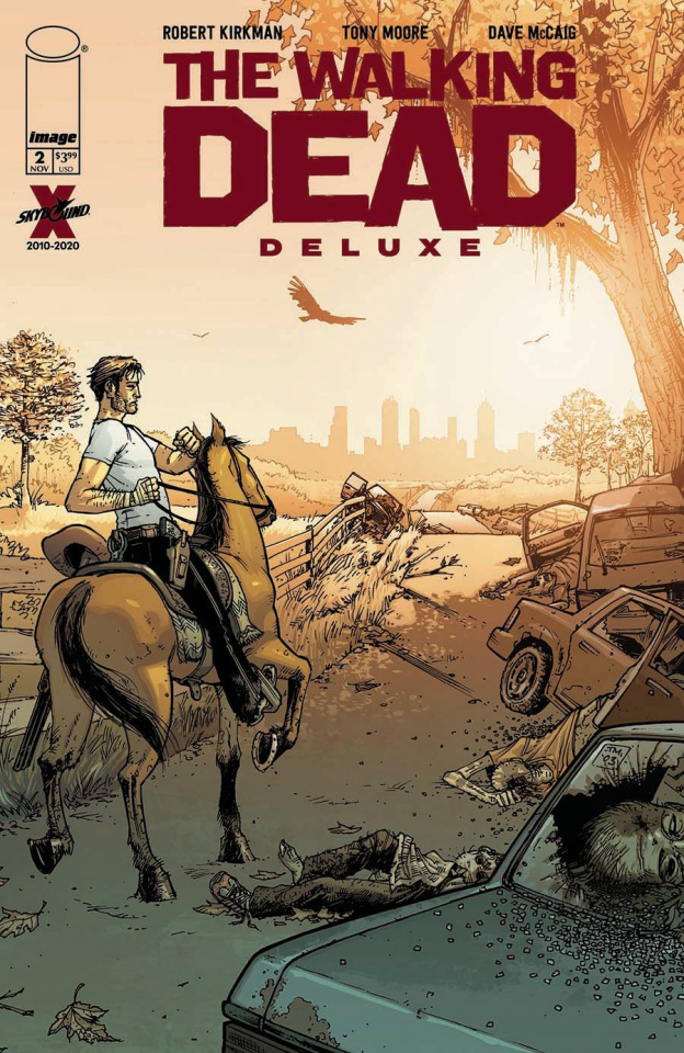 The Walking Dead Deluxe #2 (Moore & McCaig Cover)