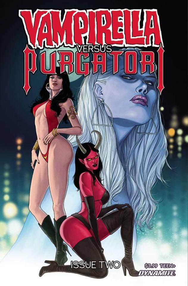 Vampirella vs. Purgatori #2 (Musabekov Cover)