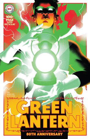 Green Lantern 80th Anniversary 100 Page Super Spectacular #1 (1950s Cover)