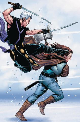 Ninjak #19 (20 Copy Laming Cover)