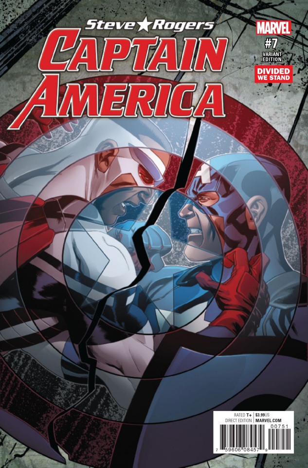Captain America: Steve Rogers #7 (Divided We Stand Cover)