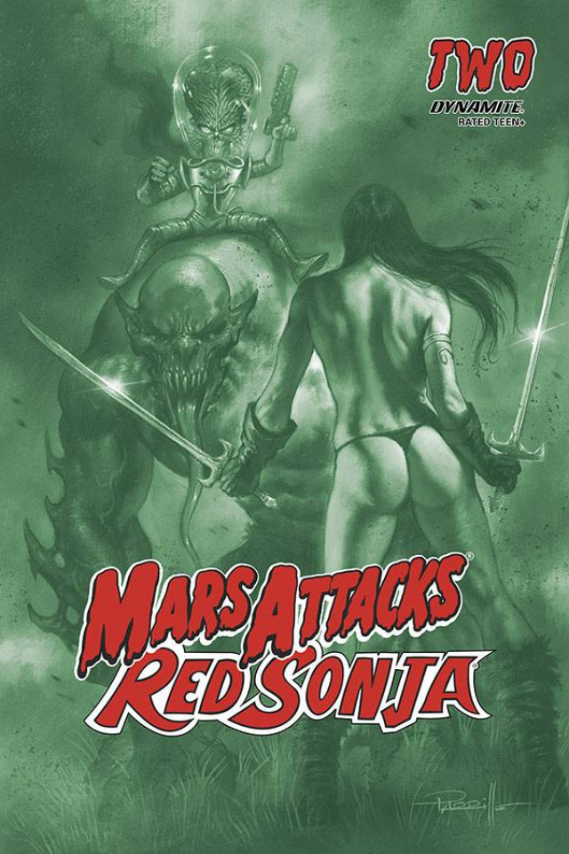 Mars Attacks / Red Sonja #2 (21 Copy Parrillo Tint Cover)