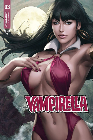 Vampirella #3 (15 Copy Artgerm Sneak Peek Cover)
