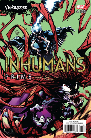 Inhumans: Prime #1 (Stegman Venomized Cover)