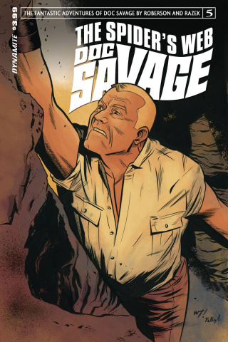 Doc Savage: The Spider's Web #5 (Torres Cover)