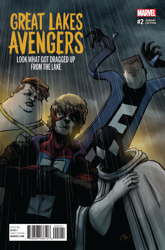 Great Lakes Avengers #2 (Zdarsky Cover)