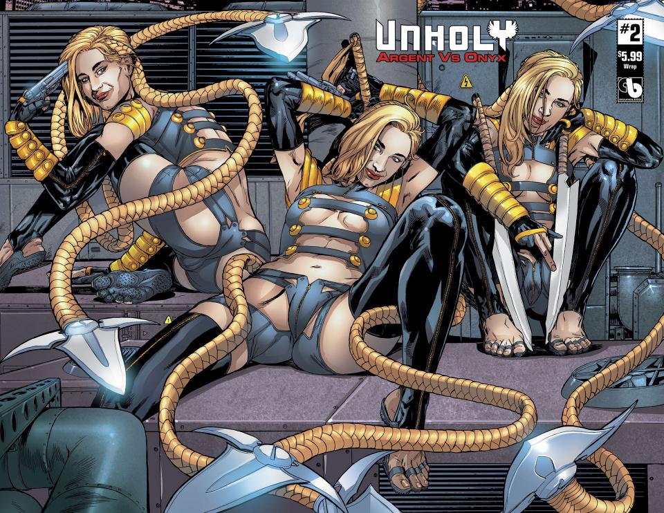 UnHoly: Argent vs. Onyx #2 (Wrap Cover)