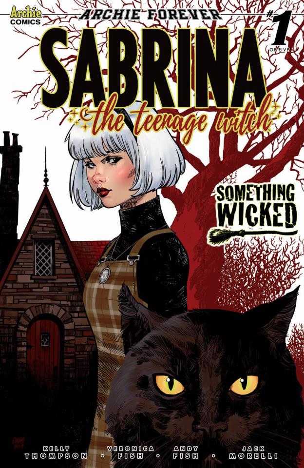 Sabrina: Something Wicked #1 (Stewart Cover)