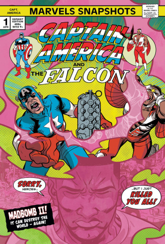 Marvels Snapshot: Captain America #1 (Perez Cover)