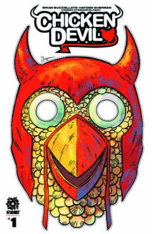 Chicken Devil #1 (Mask Variant Cover)