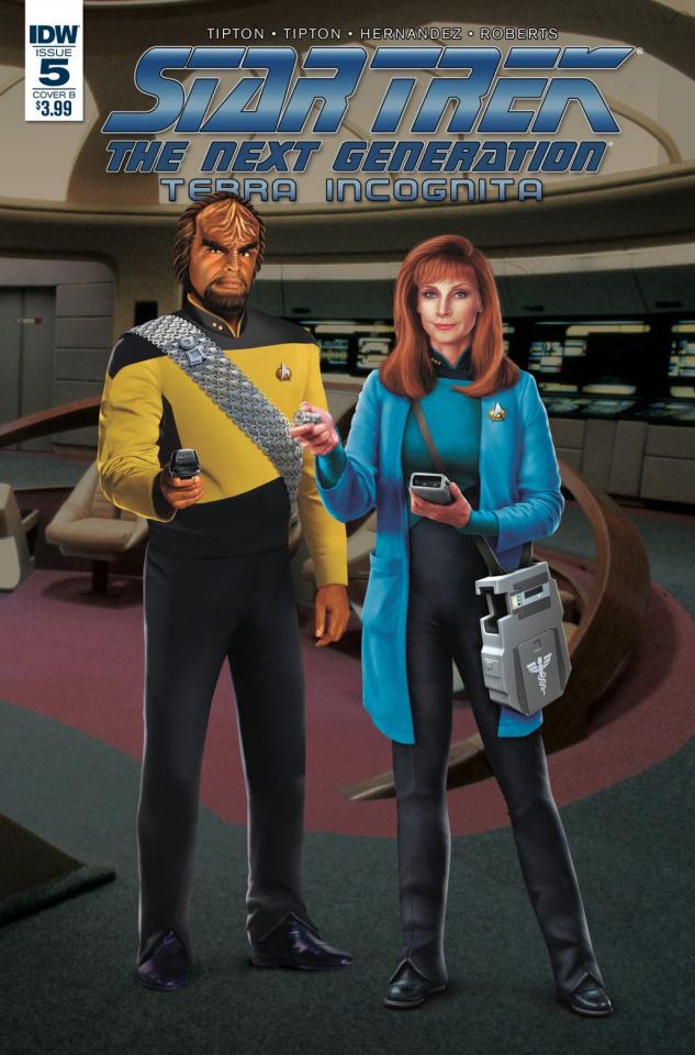 Star Trek: The Next Generation - Terra Incognita #5 (Photo Cover)