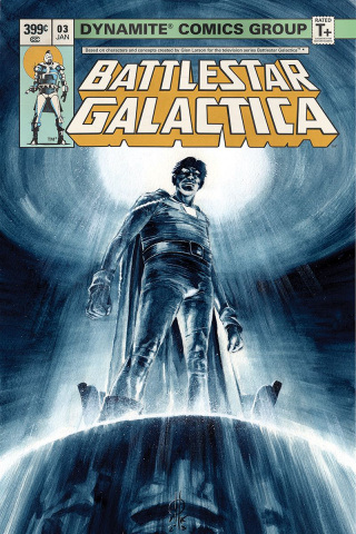 Battlestar Galactica Classic #3 (Rudy Cover)
