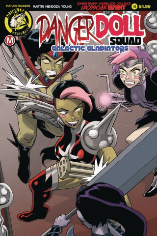 Danger Doll Squad: Galactic Gladiators #4 (Young Cover)