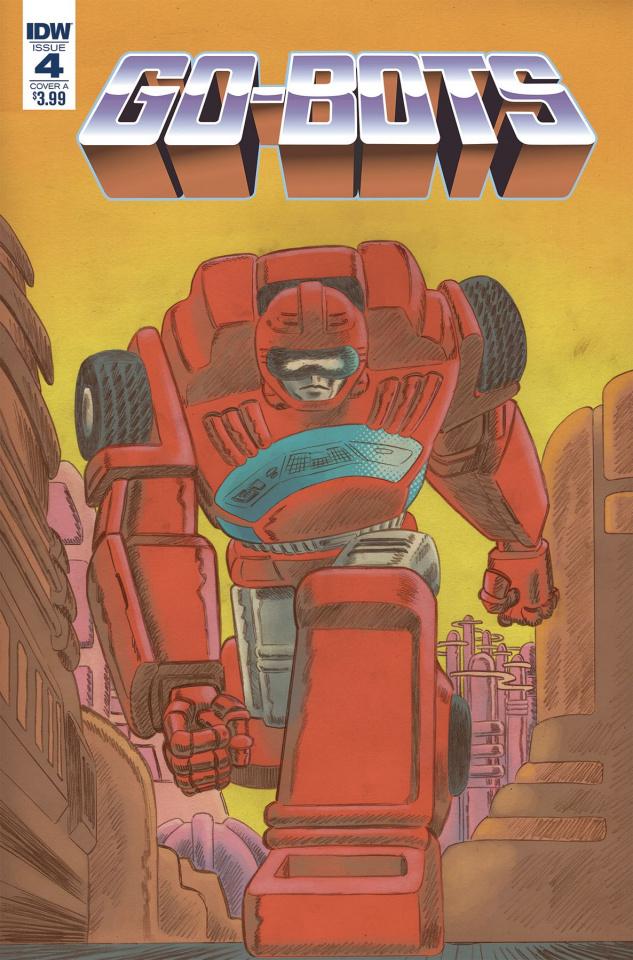 Go-Bots #4 (Scioli Cover)