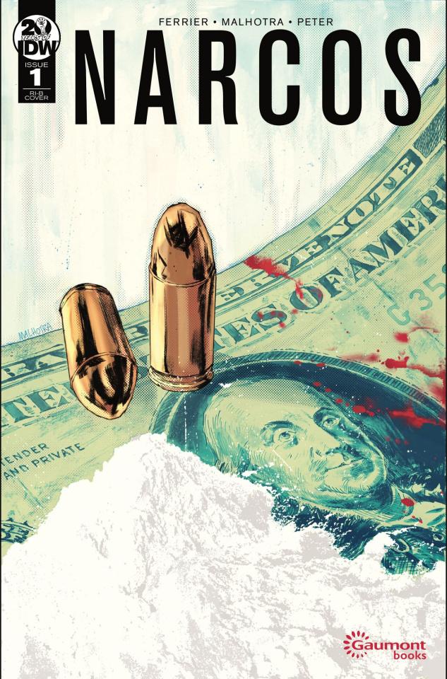 Narcos #1 (25 Copy Malhotra Cover)