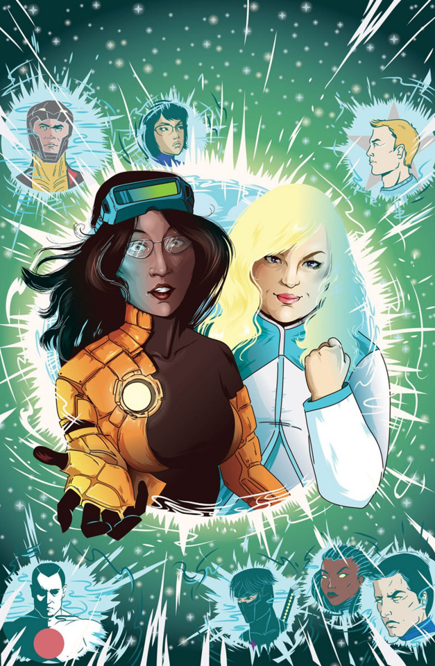 Faith and the Future Force #4 (20 Copy Cheung Cover)