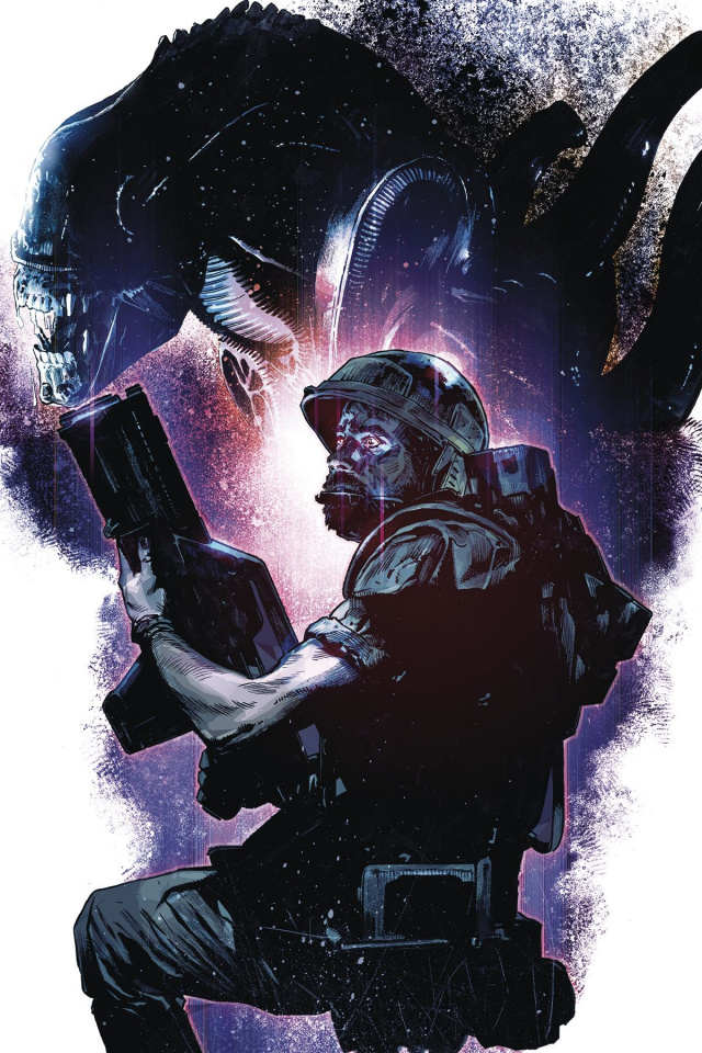 Aliens: Rescue #1 (Chater Cover)