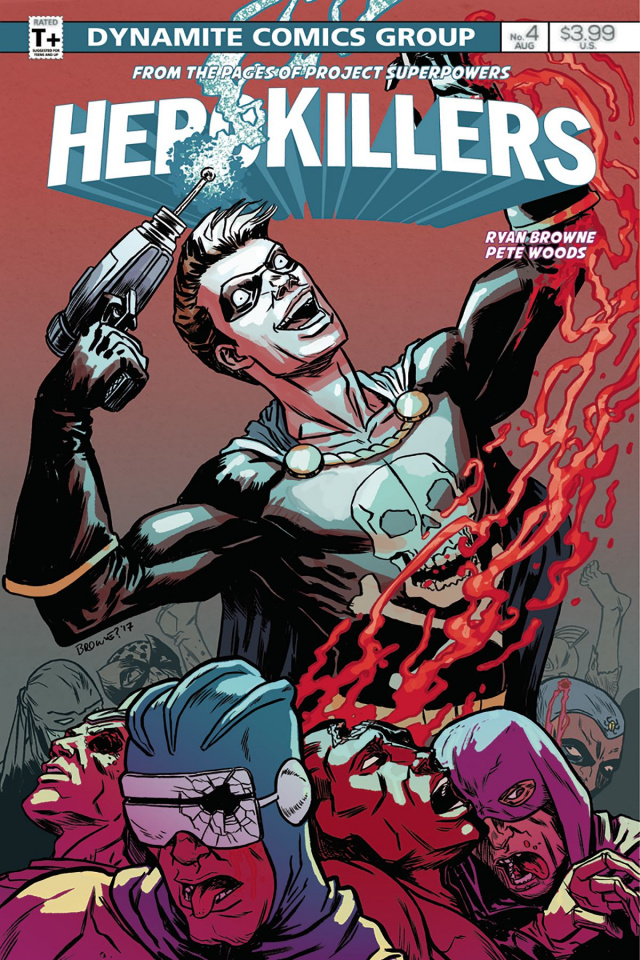 Project Superpowers: Hero Killers #4 (Browne Cover)