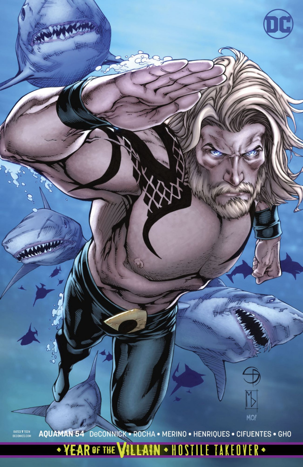 Aquaman #54 (Card Stock Cover)