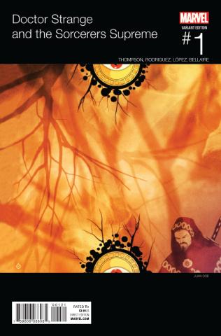 Doctor Strange and the Sorcerers Supreme #1 (Doe Hip Hop Cover)