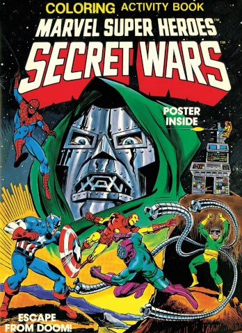 Secret Wars Activity Book