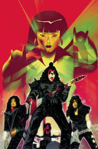 KISS / Vampirella #5 (15 Copy Doe Virgin Cover)