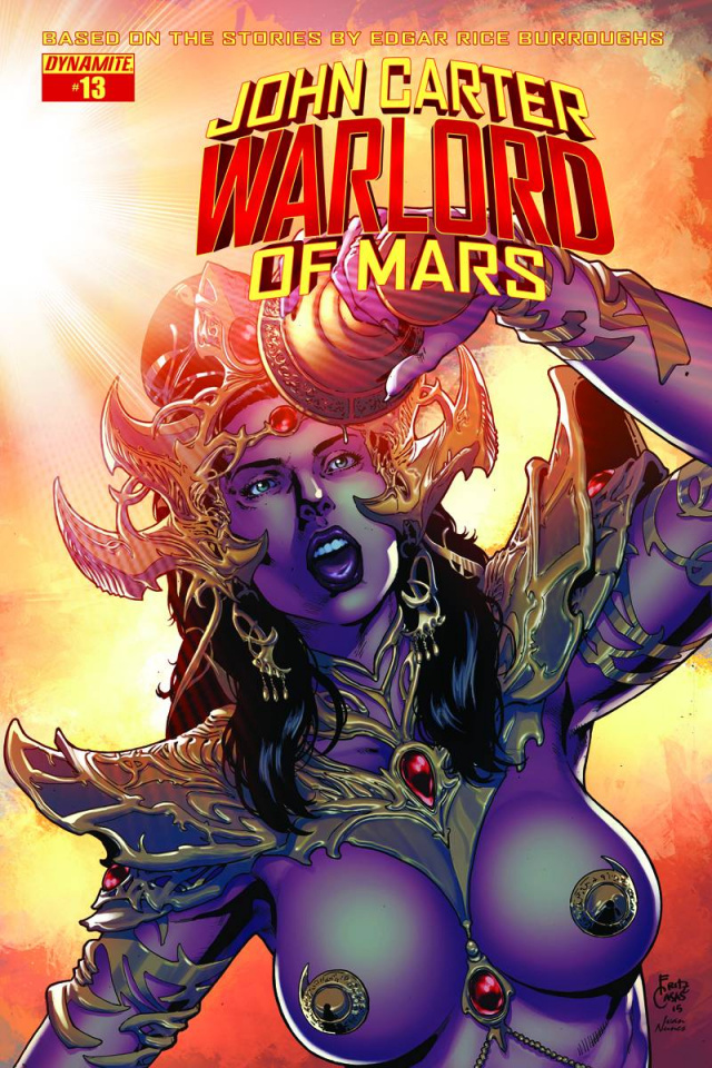 John Carter: Warlord of Mars #13 (Casas Cover)