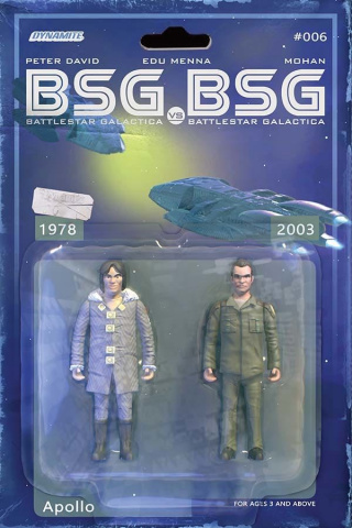 BSG vs. BSG #6 (Michael Adams Cover)