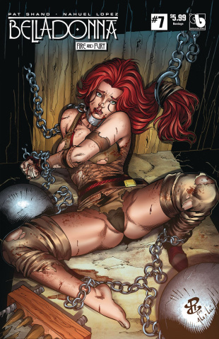 Belladonna: Fire and Fury #7 (Bondage Cover)
