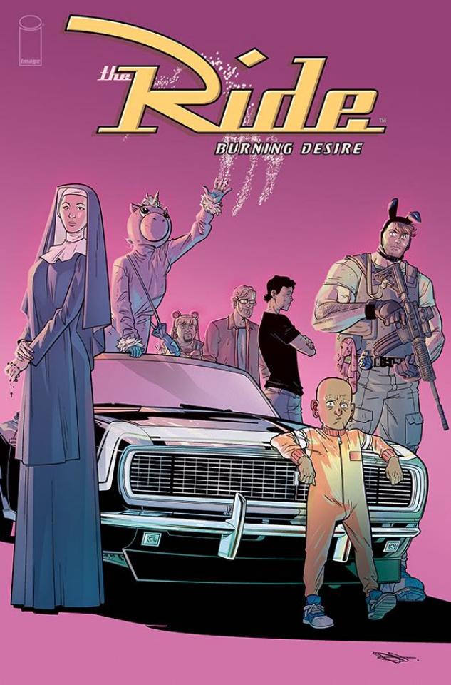 The Ride: Burning Desire #5 (Hillyard Cover)