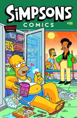 Simpsons Comics #191