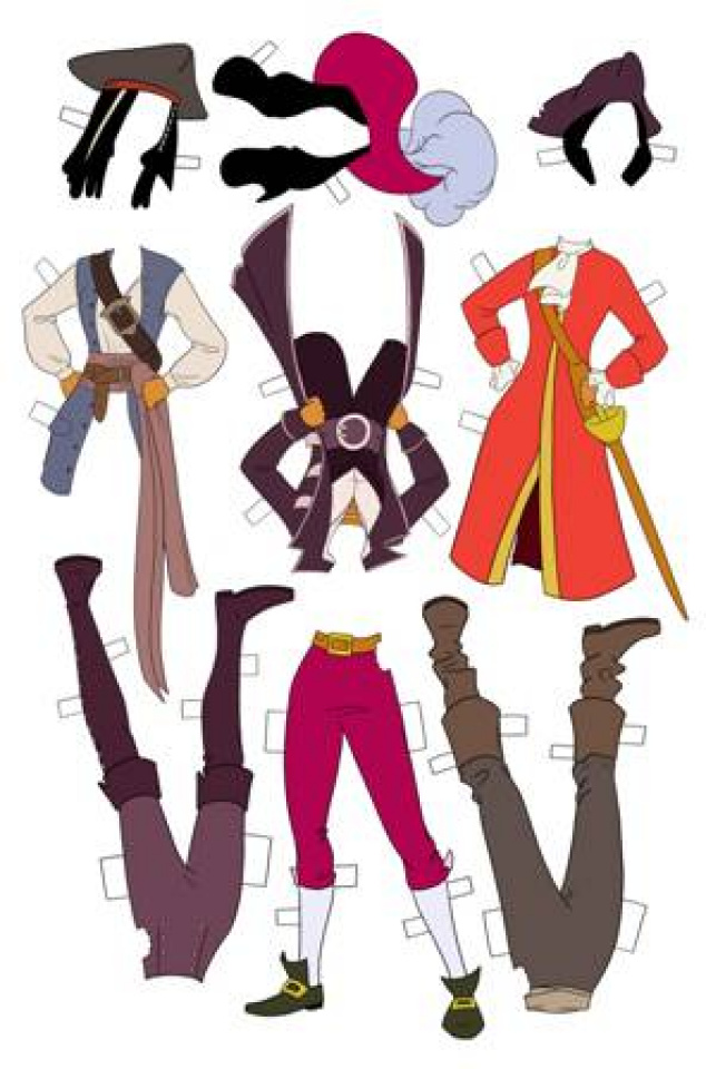 Princeless: The Pirate Princess #3 (Paper Doll Cover)
