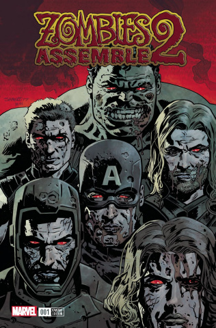 Zombies Assemble 2 #1 (Samnee Cover)