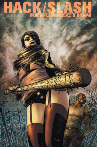 Hack/Slash: Resurrection #10 (Pace Cover)