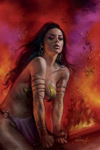 Dejah Thoris #8 (Parrillo Virgin Cover)