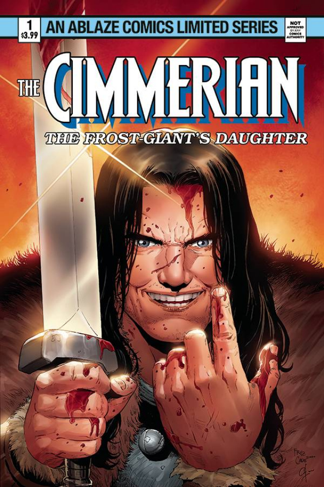The Cimmerian: The Frost Giant's Daughter #2 (Casas Cover)