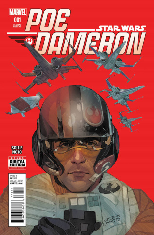 Star Wars: Poe Dameron #1 (Noto 2nd Printing)