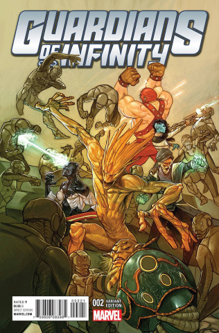 Guardians of Infinity #2 (Choo Cover)