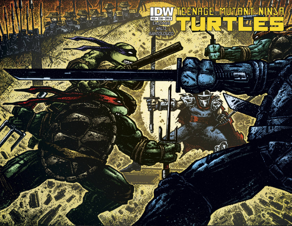 Teenage Mutant Ninja Turtles #50 (Cover B)