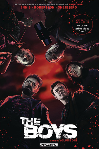 The Boys Vol. 1 (Ennis Signed Photo Cover)