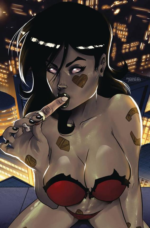 Zombie Tramp #78 (Mastajwood Cover)