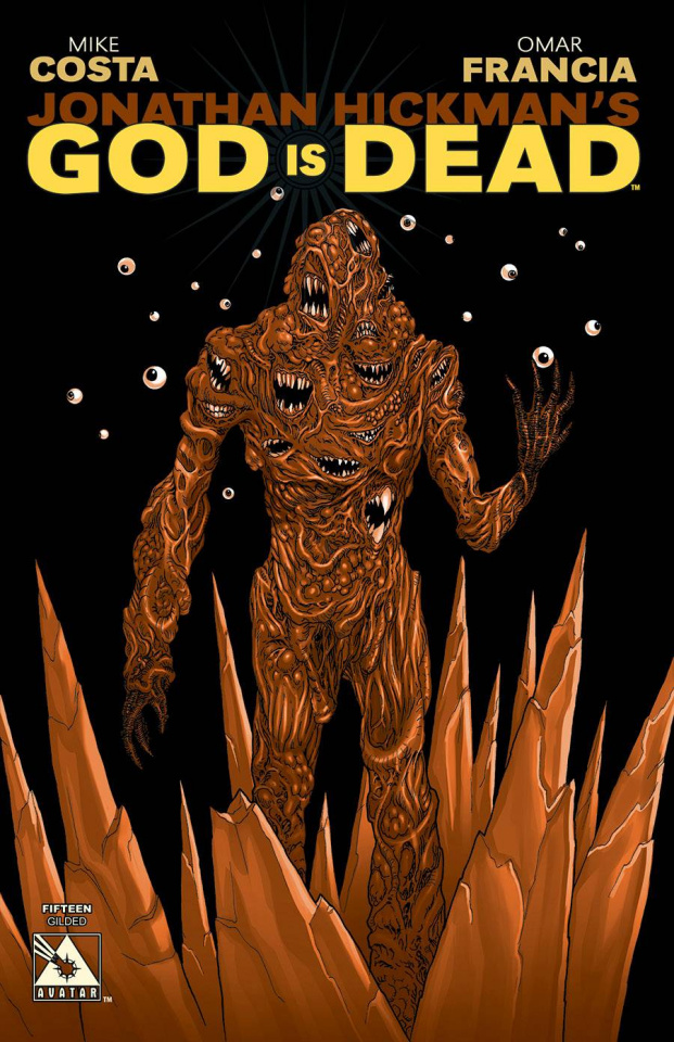 God Is Dead #15 (Gilded Cover)