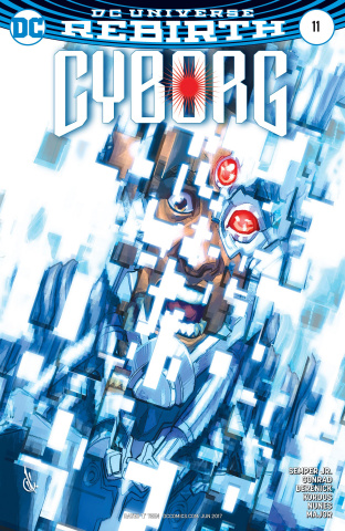 Cyborg #11 (Variant Cover)