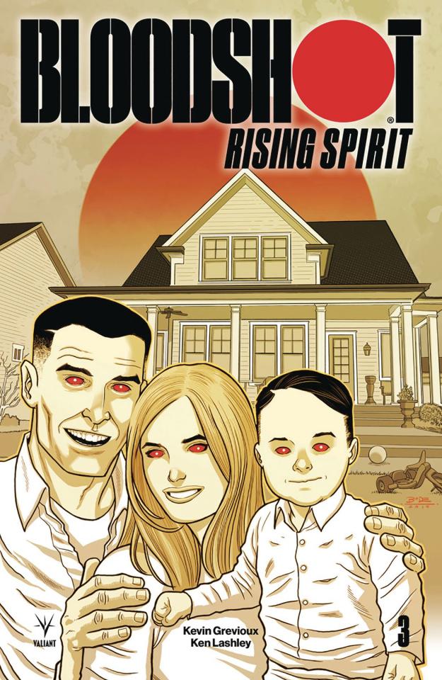 Bloodshot: Rising Spirit #3 (20 Copy Bodenheim Cover)