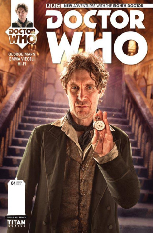 Doctor Who: New Adventures with the Eighth Doctor #4 (Subscription Photo Cover)